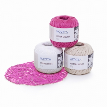 Novita Heegelniit Cotton Crochet 50g