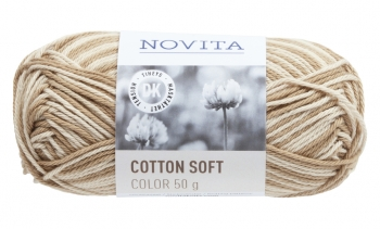 Novita Cotton Soft Color puuvill