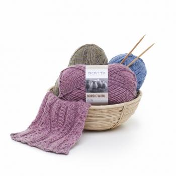 Novita Nordic Wool Flow